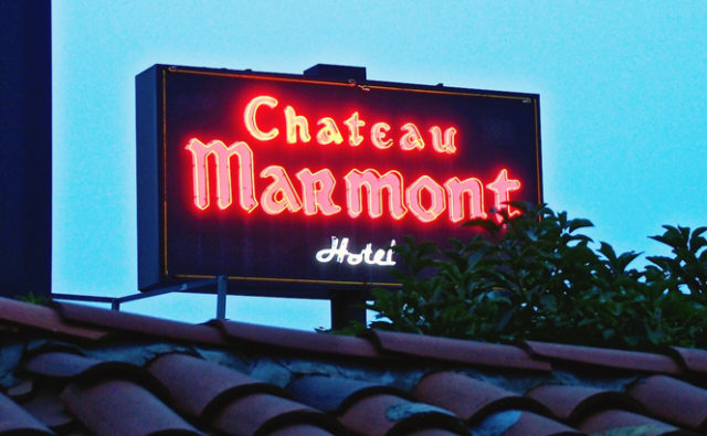 Chateau Marmont Hollywood <br>シャトー・マーモント <br>#hotel #la #SunsetBlvd